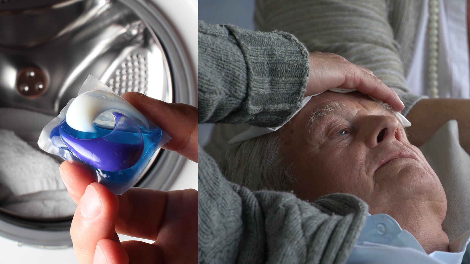 Kapsułki do prania są niebezpieczne dla dzieci i seniorów z demencją