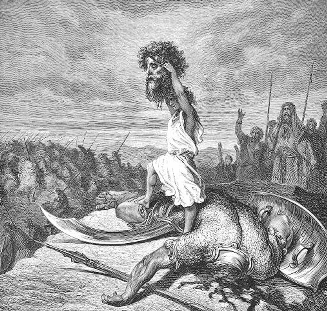 Biblijny Goliat pochodził z Europy