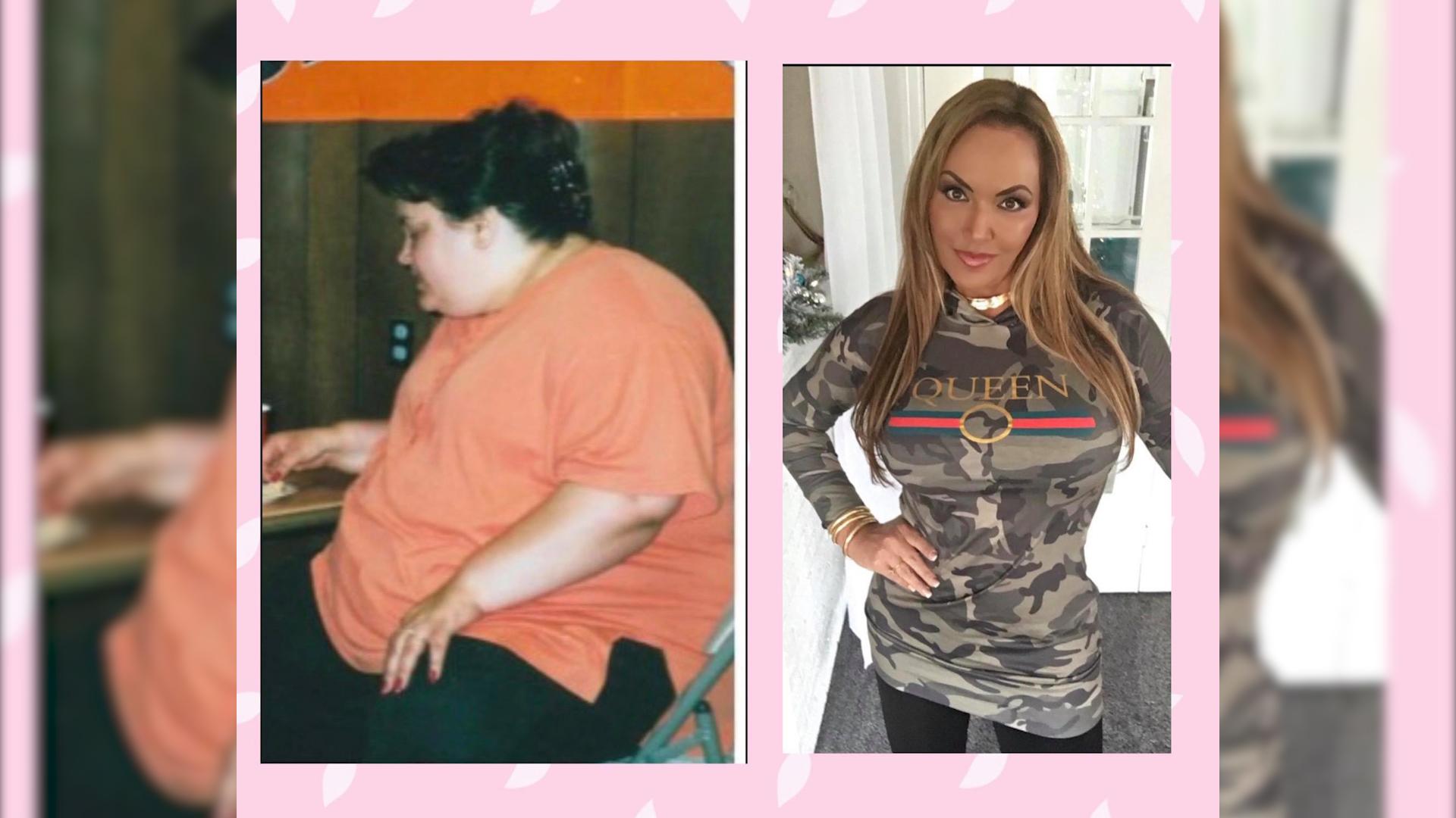 Zrezygnowała z fast foodów i schudła 100 kg