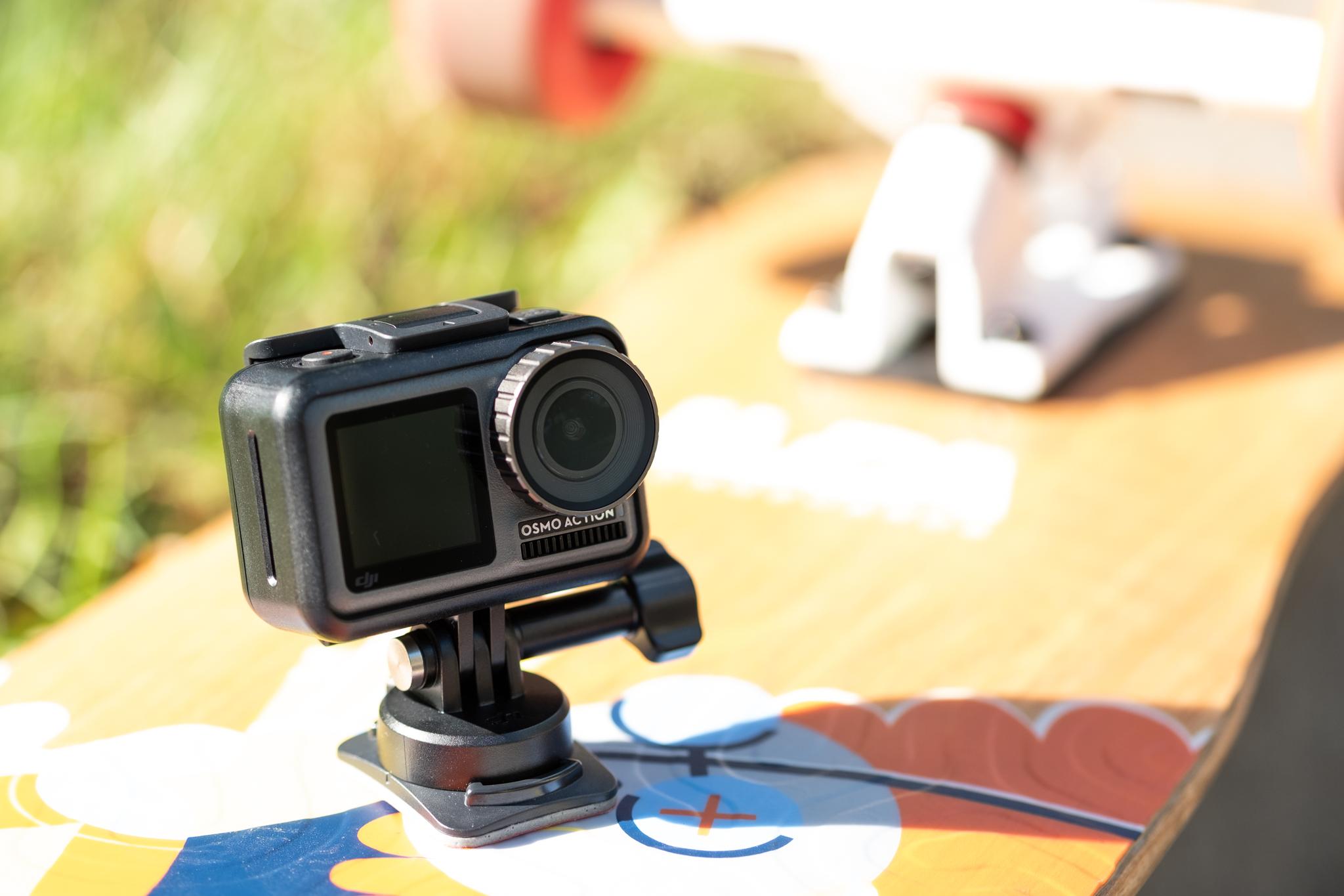 DJI Osmo Action - kamerka spotowa, która ani drgnie