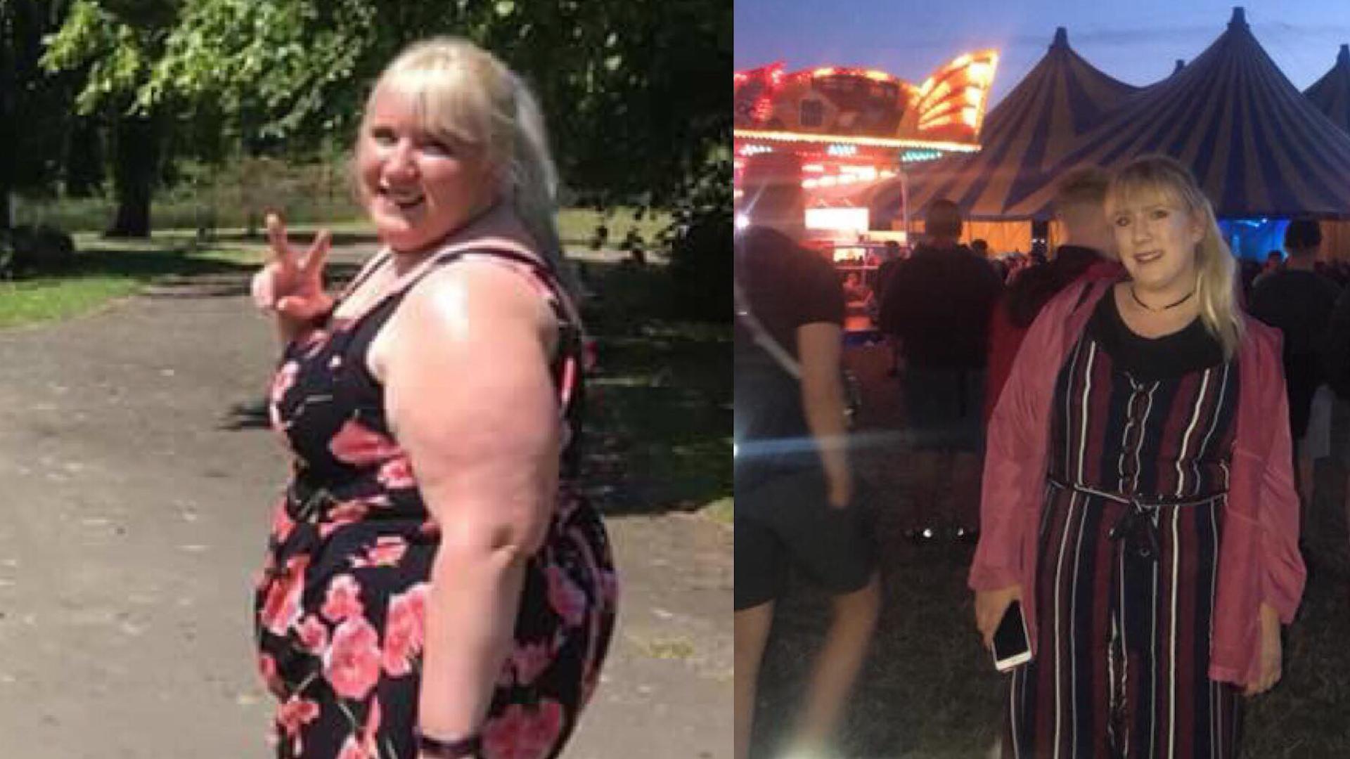 Kobieta zrzuciła ponad 60 kg, by móc pojechać kolejką