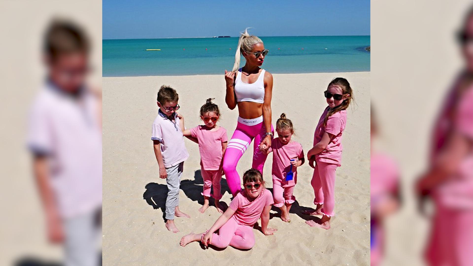 Fit mama z 5 dzieci