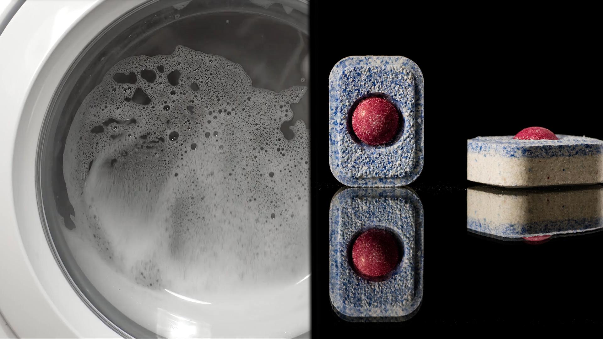 Czyszczenie pralki tabletkami do zmywarki