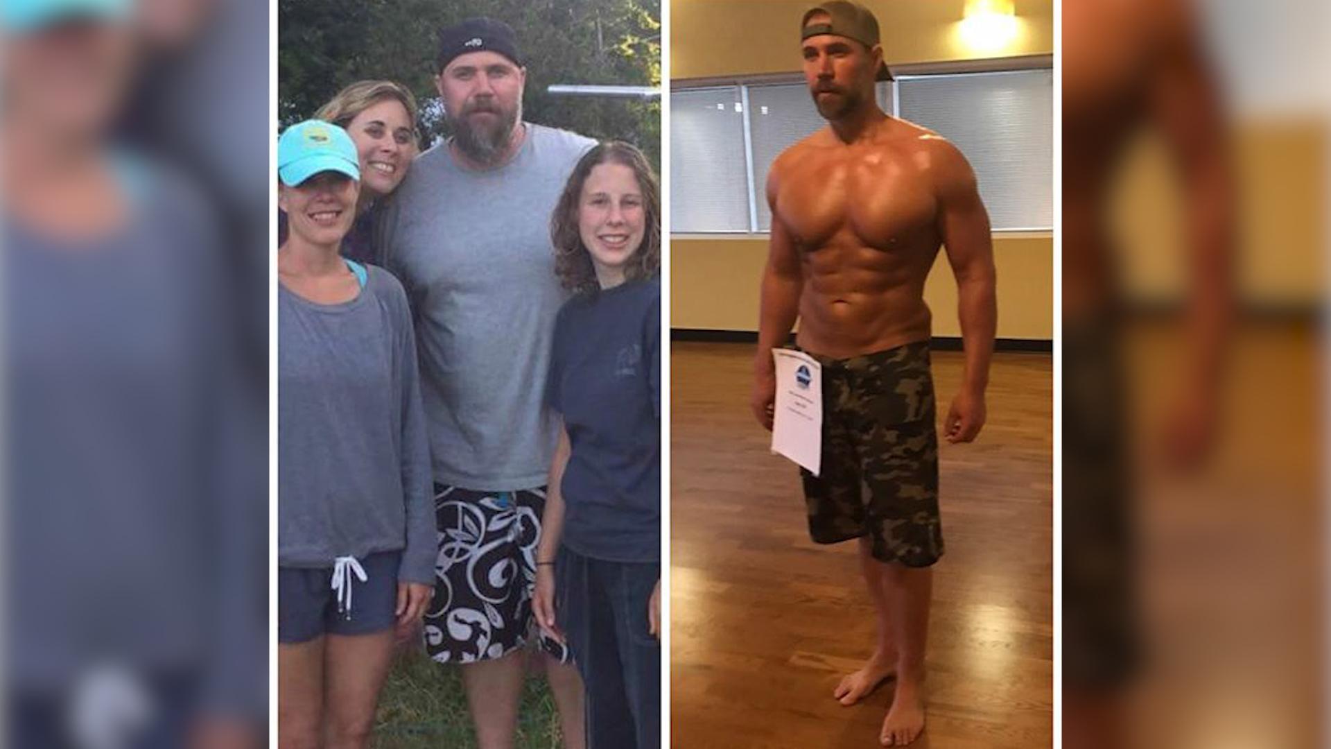 W pół roku schudł 40 kg. Zrobił to dla swoich dzieci